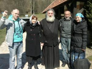Отац Серафим и породица Васиљевић