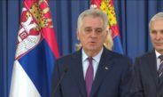 НИКОЛИЋ: Не дозвољавам поделу Србије,од договора с Вучићем не одустајем!