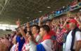 БОЛЕСНА ПОРУKА Хрватски и украјински навијачи уједињени: Србе на врбе, Русе на нож!