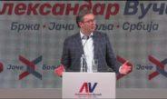 ВУЧИЋ: Нећу да кажем – Косово је наша територија, терајте Албанце у Тирану