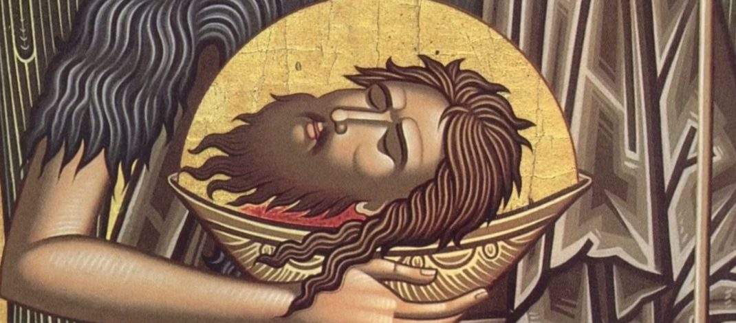 Резултат слика за sutra je usekovanje glave svetog jovana krstitelja
